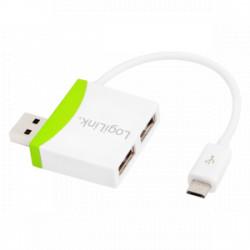 MICRO USB CABLE, 2-PORT USB HUB