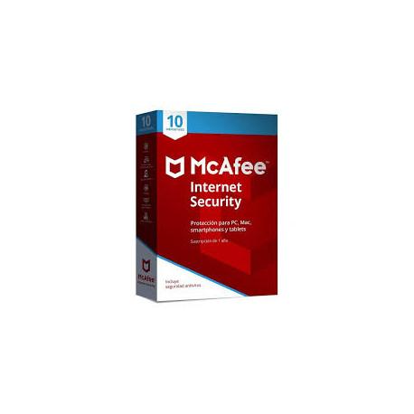 McAfee Internet Security Suite  10 dispositivos