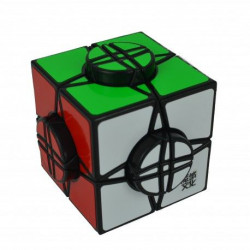 CUBO MOYU TIMEWHELL BASE NEGRA Y STICKERLESS