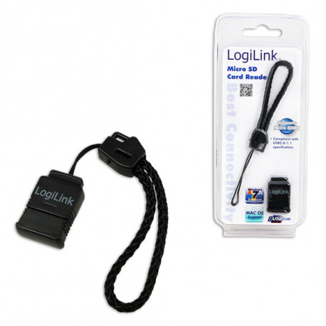 CARD READER LOGILINK MICRO SD NEGRO
