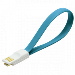 MICRO USB CONECTION CABLE AZUL