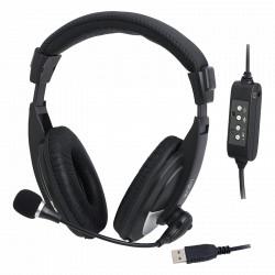 LOGILINK HEADSET STEREO USB HS0019