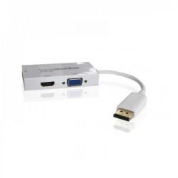 ADAPTADOR DISPLAYPORT A HDMI -VGA - DVI APPROX AP7