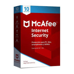 McAfee Internet Security Suite  10 dispositivos