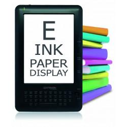 """LIBRO DE TINTA ELECTR.E-BOOK 6"""" TACTIL WIFI 4GB"""