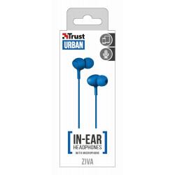 Trust Urban In-Ear Headphones with microphone ZIVA