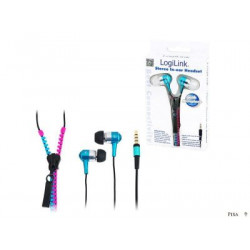 LogiLink ZIPPER Stereo In-Ear Headset
