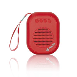 NGS ROLLER DICE RED Portable Bluetooth Speaker