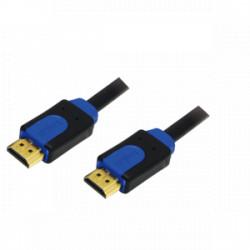 LOGILINK HDMI CABLE 1.4 2X HDMI MALE, BLACK 3M