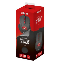 Trust Gaming ZIVA Mouse & Pad